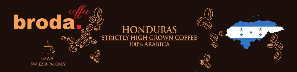 Kawa Świeżo Palona Honduras Stricly High Grown Coffee 100% Atabica